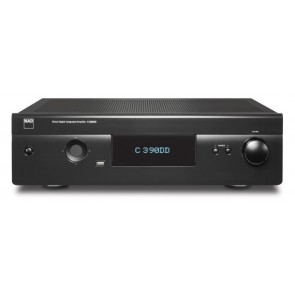 Amplificatore C 390DD integrato Dac Usb/ A/B  Tecnologia Digital power drive 2x150 W  rms su 8 ohm NAD