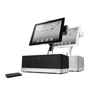 I-LUV iMM514 Stereo Speaker Dock for iPad, iPhone and iPod