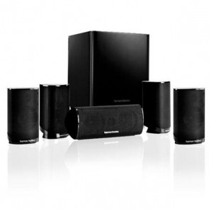 SISTEMA DI DIFFUSORI HOME THEATER HIGH-END A 5.1 CANALI NERO HARMAN/KARDON - HK-TS9BQ/230