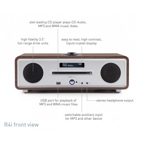 RADIO DA TAVOLO RUARK AUDIO R4i APPLE DOC WALNUT