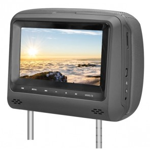 Poggiatesta Monitor Universale 7'' DVD - USB/SD PHONOCAR VM152